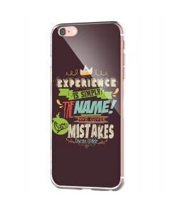 Experience - iPhone 6 Carcasa Transparenta Silicon