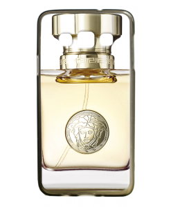 Versace Perfume - Samsung Galaxy A3 Carcasa Silicon Premium