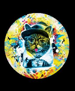 Popsocket Hipster Meow, Accesoriu telefon