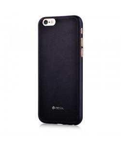 Devia Jelly Black - iPhone 6 Plus Carcasa Ultraslim (flexibil)