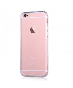 Shockproof Crystal Clear - Devia iPhone 6 Plus Carcasa Silicon (cu breloc multifunctional)