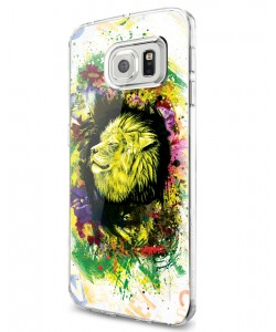 Gold Lion - Samsung Galaxy S7 Edge Carcasa Silicon