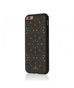 Occa Mandala Gray - iPhone 6/6S Carcasa Piele naturala