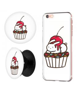 Combo Popsocket Cherry Bunny
