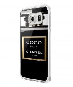 Coco Noir Perfume - Samsung Galaxy S6 Carcasa Plastic Premium