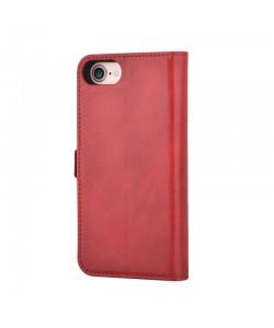 Devia Magic 2 in 1 Red - iPhone 7 / iPhone 8 Husa Book Rosie (Carcasa magnetica detasabila)