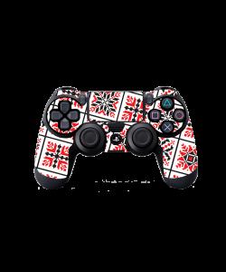 Rosu si Negru - PS4 Dualshock Controller Skin