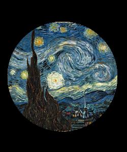 Popsocket VAN GOGH - Starry Night, Accesoriu telefon