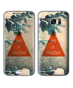 Let it Snow - Samsung Galaxy S7 Skin