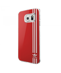 Red Adidas - Samsung Galaxy S7 Edge Carcasa Silicon