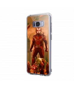 Ant Man Infinity War - Samsung Galaxy S8 Plus Carcasa Transparenta Silicon