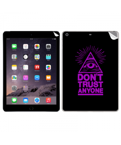 Don't Trust Anyone - Apple iPad Air 2 Skin