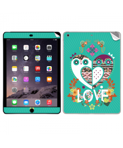 Owl Love - Apple iPad Air 2 Skin