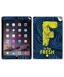 F is for Fresh - Apple iPad Air 2 Skin