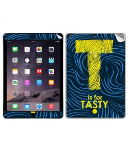 T is for Tasty - Apple iPad Air 2 Skin
