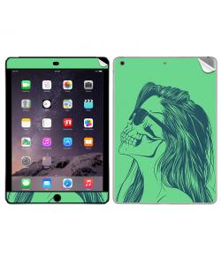 Skull Girl - Apple iPad Air 2 Skin