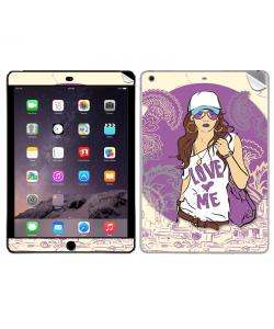 Love Me - Apple iPad Air 2 Skin