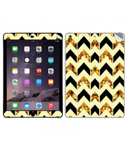 Black & Gold - Apple iPad Air 2 Skin