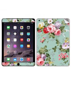 Retro Flowers Wallpaper  - Apple iPad Air 2 Skin