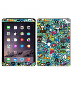 Urban Chaos - Apple iPad Air 2 Skin