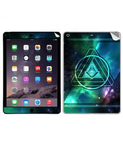Triangle Galaxy 2 - Apple iPad Air 2 Skin