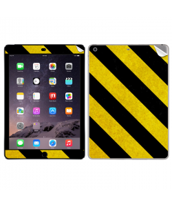 Caution - Apple iPad Air 2 Skin