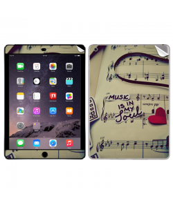Soul Music - Apple iPad Air 2 Skin