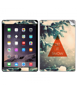 Let it Snow - Apple iPad Air 2 Skin