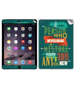 Anything New - Apple iPad Air 2 Skin