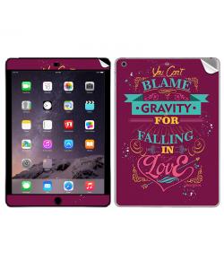 Falling in Love - Apple iPad Air 2 Skin