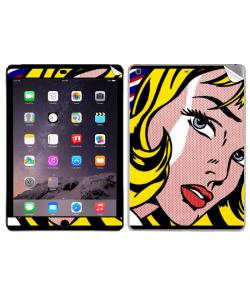 Blonde Girl - Apple iPad Air 2 Skin