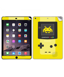 Gameboy Yellow - Apple iPad Air 2 Skin