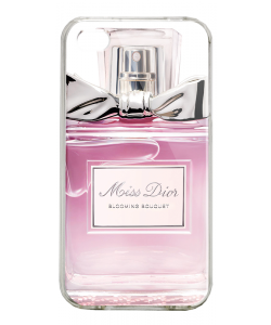 Miss Dior Perfume - iPhone 4/4S Carcasa Alba/Transparenta Plastic