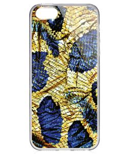 Snake - iPhone 5/5S/SE Carcasa Transparenta Silicon