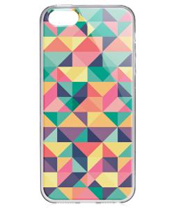 Hard Pastel - iPhone 5/5S/SE Carcasa Transparenta Silicon