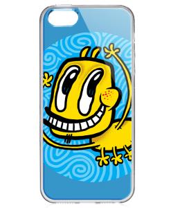 Pisica Patrata - pp13 - iPhone 5/5S/SE Carcasa Transparenta Silicon