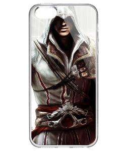 Assassin - iPhone 5/5S/SE Carcasa Transparenta Silicon
