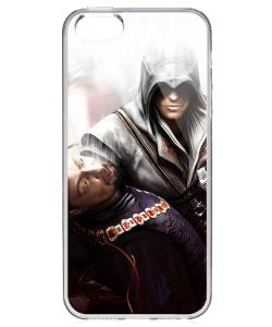 Assassin Kill - iPhone 5/5S/SE Carcasa Transparenta Silicon