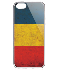 Romania - iPhone 5/5S/SE Carcasa Transparenta Silicon