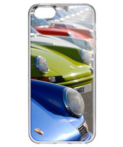Porsche Park - iPhone 5/5S/SE Carcasa Transparenta Silicon