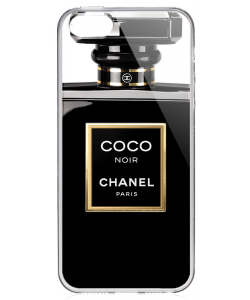 Coco Noir Perfume - iPhone 5/5S Carcasa Transparenta Plastic