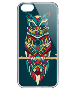 Wise - iPhone 5/5S/SE Carcasa Transparenta Silicon
