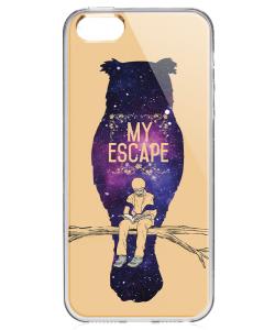 My Escape - iPhone 5/5S/SE Carcasa Transparenta Silicon