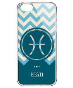 Pești - El - iPhone 5/5S/SE Carcasa Transparenta Silicon