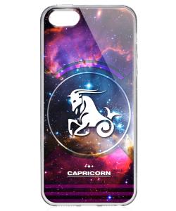 Capricorn - Universal - iPhone 5/5S/SE Carcasa Transparenta Silicon