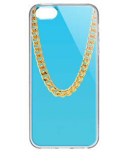 Chain - iPhone 5/5S/SE Carcasa Transparenta Silicon