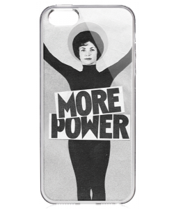More Power - iPhone 5/5S/SE Carcasa Transparenta Silicon