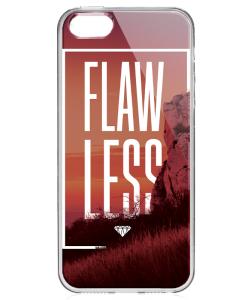 Flawless - iPhone 5/5S/SE Carcasa Transparenta Silicon