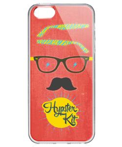 Hypster Kit - iPhone 5/5S/SE Carcasa Transparenta Silicon