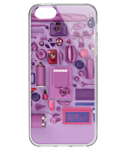 Radiant Accessories - iPhone 5/5S/SE Carcasa Transparenta Silicon